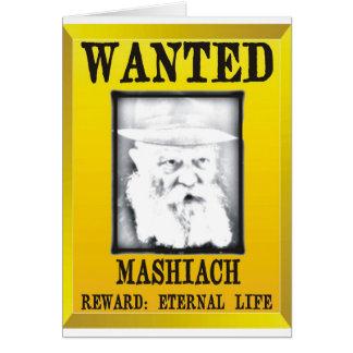 Wanted: Mashiach Card
