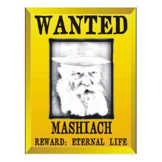 Wanted: Mashiach Postcard