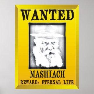 Wanted Mashiach Poster