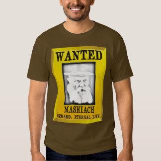 Wanted: Mashiach T-shirt