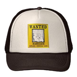 Wanted: Mashiach Trucker Hat