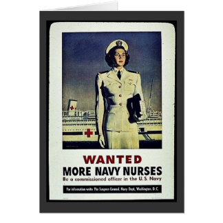 Wanted More Navy Nurses Cards