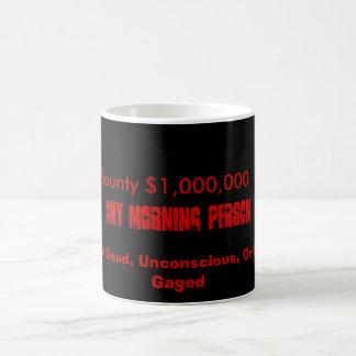 Wanted Morning People Classic White Coffee Mug