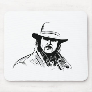 Wanted Mouse Pad