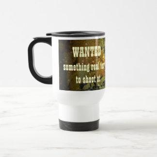WANTED mug