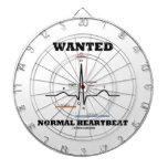 Wanted Normal Hearbeat (ECG/EKG Electrocardiogram) Dartboards