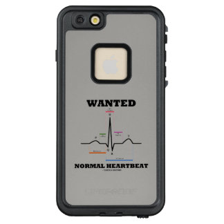 Wanted Normal Heartbeat ECG Electrocardiogram LifeProof FRĒ iPhone 6/6s Plus Case