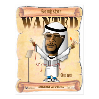 Wanted O Bombster Postcard