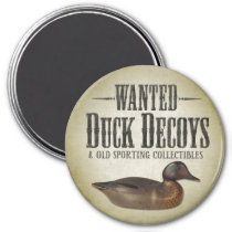 Wanted - Old Duck Decoys Magnet