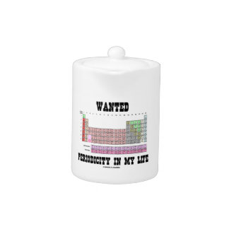 Wanted Periodicity In My Life (Periodic Table)