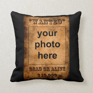 Wanted pillow
