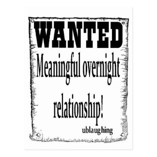 wanted postcards