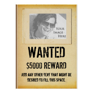 WANTED - Poster