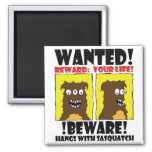WANTED POSTER #4 REFRIGERATOR MAGNETS