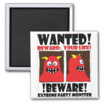 WANTED POSTER #5 REFRIGERATOR MAGNETS
