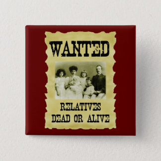 Wanted Poster Button
