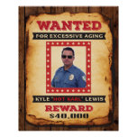 Wanted Poster for Michele