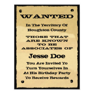 western party invitations zazzle