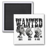 WANTED-POSTER Magnet