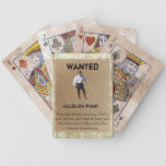 Wanted Poster Playing Cards - Alleluia Ruah