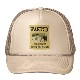 Wanted Poster Trucker Hat