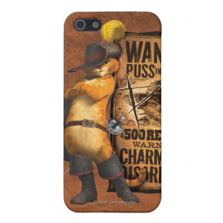 Wanted Puss in Boots (char) Case For iPhone SE/5/5s