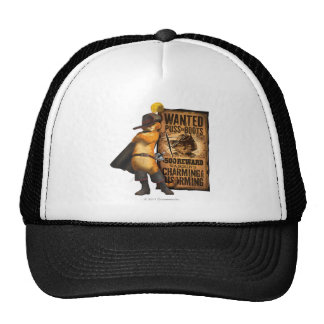 Wanted Puss in Boots (char) Trucker Hats