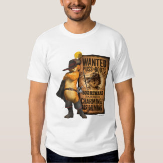 Wanted Puss in Boots (char) Tee Shirt