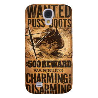 Wanted Puss in Boots Galaxy S4 Case