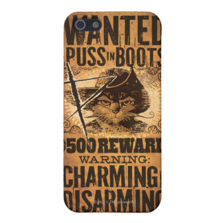 Wanted Puss in Boots iPhone SE/5/5s Cover