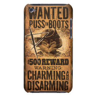 Wanted Puss in Boots iPod Touch Case