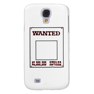 Wanted Red transp The MUSEUM Zazzle Gifts Galaxy S4 Cover