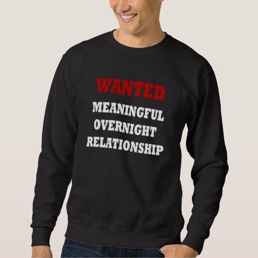 Wanted Relationship Sweatshirt