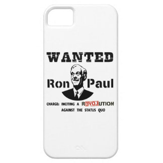 WANTED Ron Paul Charge: Inciting a rEVOLution iPhone SE/5/5s Case