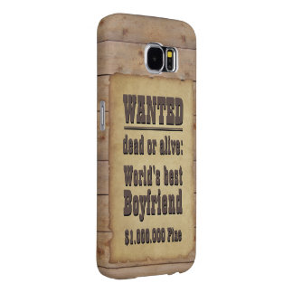 Wanted Samsung Galaxy S6 Case