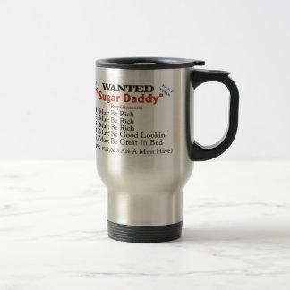 Wanted - Sugar Daddy Travel Mug