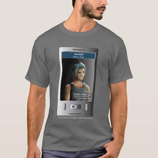 """Wanted"" T-shirt"