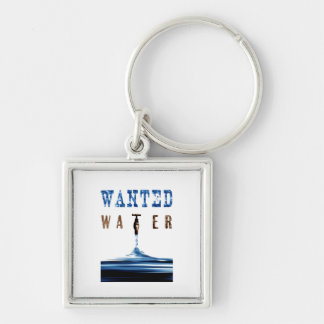 Wanted Water Keychain