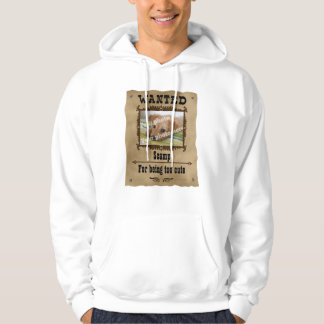 Wanted Wild West Poster Pet Custom Photo Template Pullover