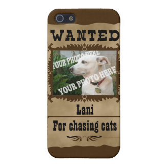 Wanted WildWest Poster Custom Photo Speck Template iPhone SE/5/5s Cover