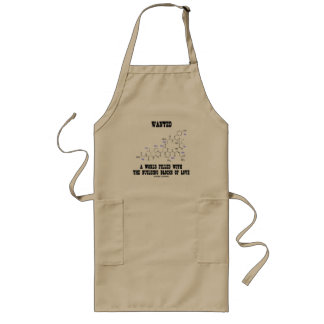 Wanted World Filled Building Blocks Love Oxytocin Long Apron