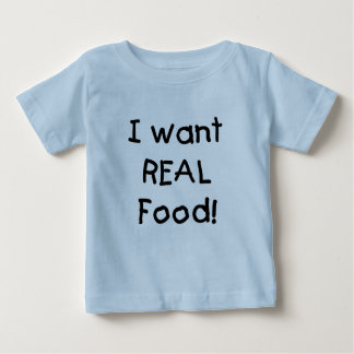 Wants Real Food T-shirts and Gifts