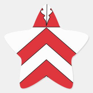 Wappen Amt Ennigloh Star Sticker