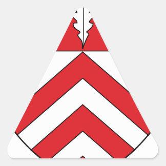 Wappen Amt Ennigloh Triangle Sticker