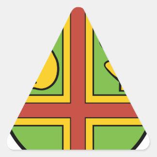 Wappen Gross Kreutz Triangle Sticker