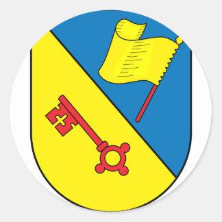 Wappen Illingen Classic Round Sticker