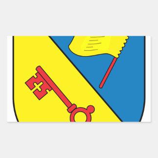 Wappen Illingen Rectangular Sticker