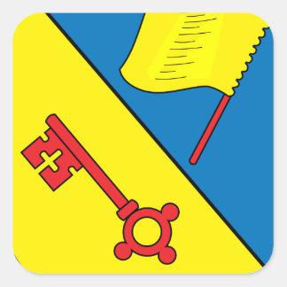 Wappen Illingen Square Sticker
