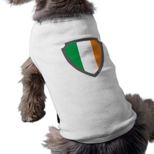 Wappen Schild hatchment Irland Ireland Eire Playera Sin Mangas Para Perro