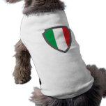 Wappen Schild hatchment Italien Italy Italia Playera Sin Mangas Para Perro